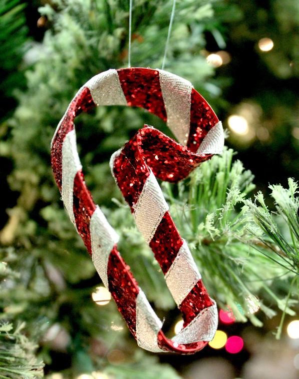 Рождественский леденец на елку своими руками (8 мастер-классов)