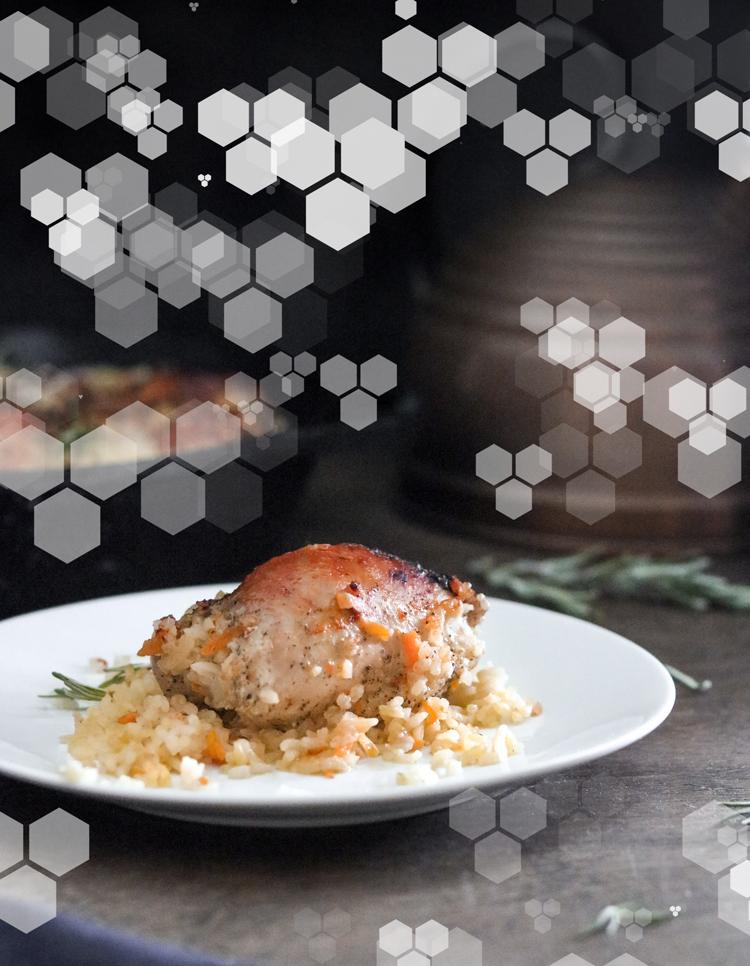 Очень вкусное блюдо: курица с рисом в духовке (рецепт без секретов)