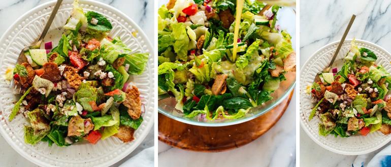 "Витаминный салат ""Фаттуш"" (Фатуш): рецепт легендарного ливанского салата"