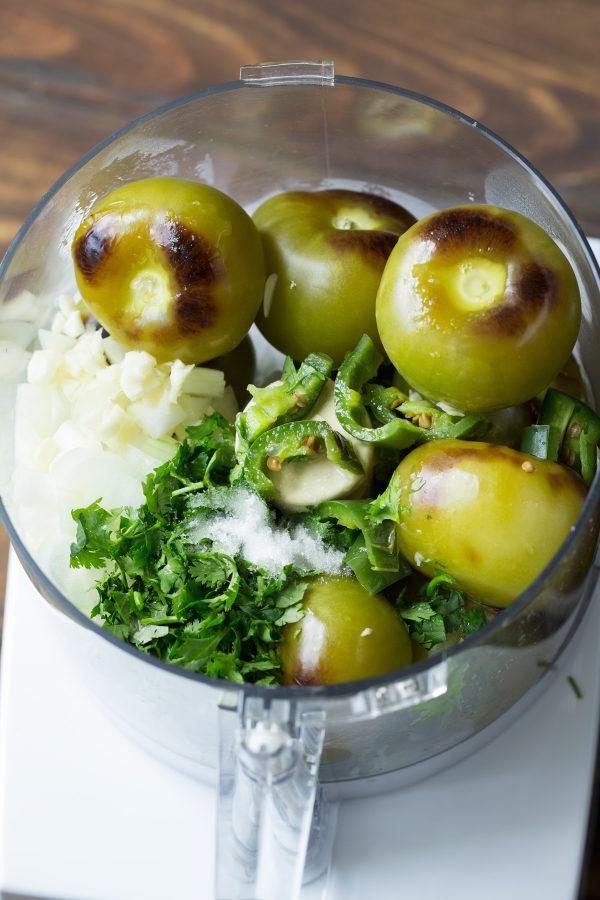 Как приготовить соус зеленый Сальса (рецепт из зеленых помидоров)