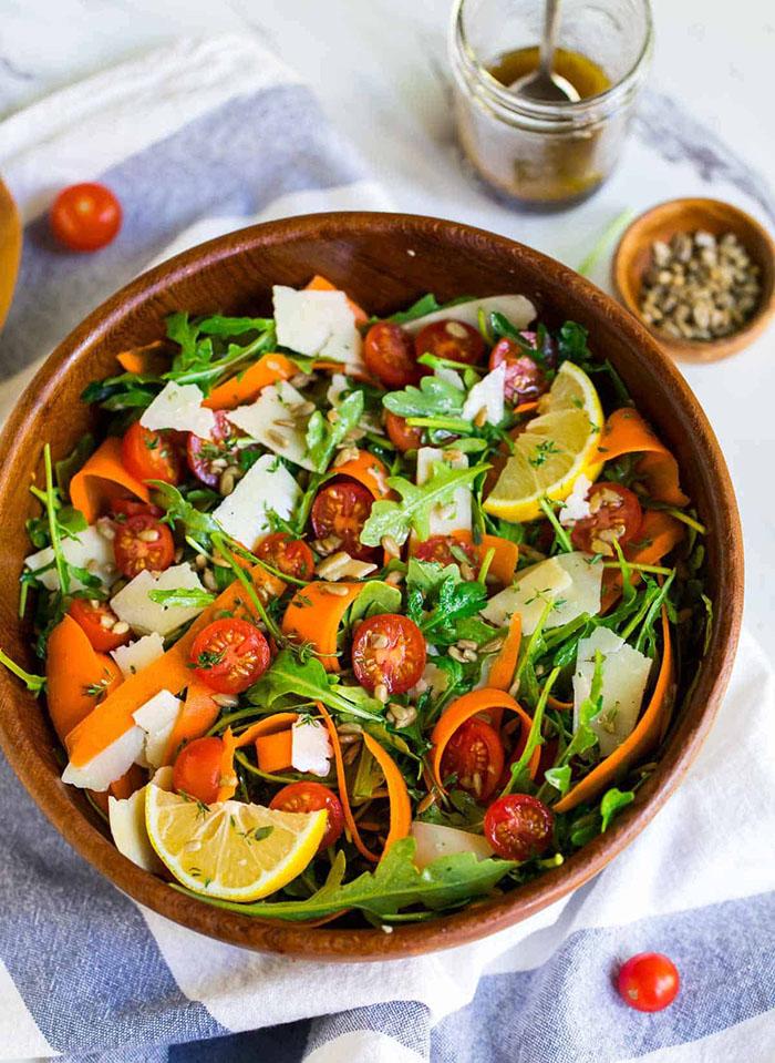 Лучший салат с рукколой (делимся вкусным рецептом)