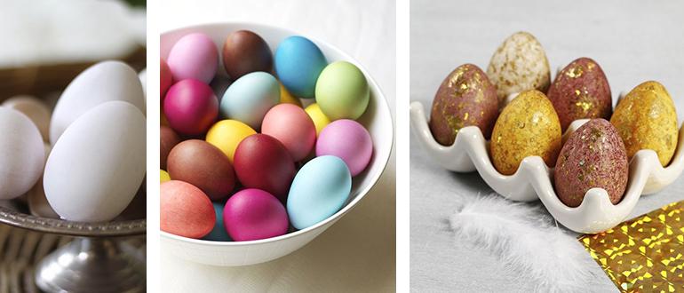 10 идей: как покрасить яйца на Пасху в домашних условиях (идеи декора яиц)