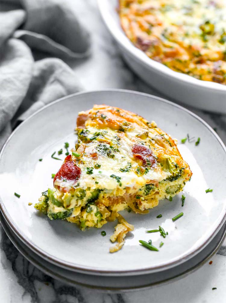 Омлет в духовке — пышный, вкусный, красивый и сытный (пошаговый рецепт)